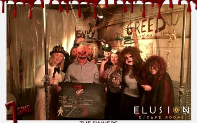 Team Building Event: Seven Sins Escape Room